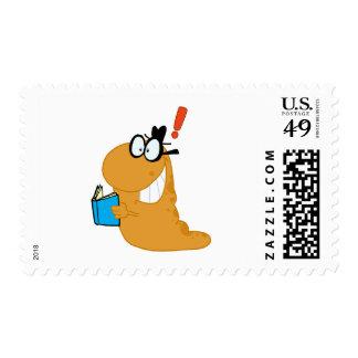 Feliz-Ratón de biblioteca-por-uno-idea Sellos