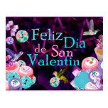 Feliz San Valentin Tarjeta Postal