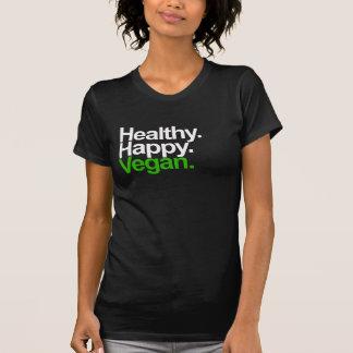 Feliz. Sano. Vegan. Camiseta