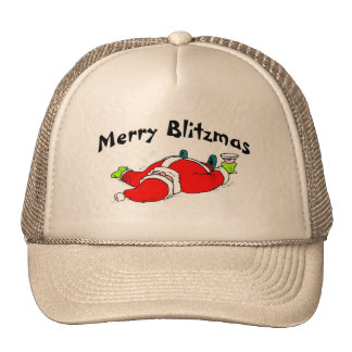 Feliz Santa bebido Blitzmas Gorra