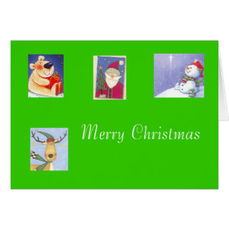 Feliz tarjeta de Christms