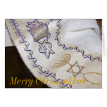 Feliz tarjeta de felicitación judeocristiana de Ch