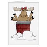 Feliz tarjeta de Navidad de Christmoose