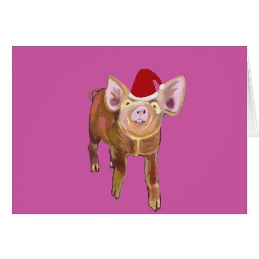 Feliz tarjeta de Navidad guarra