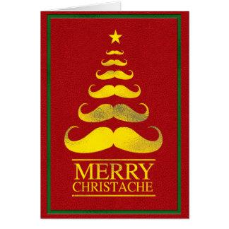 Feliz tarjeta del árbol de Christache
