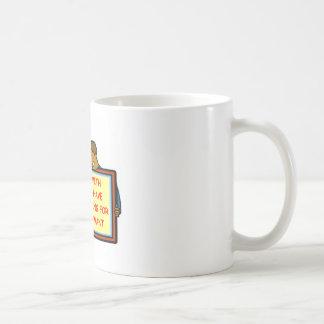 feliz taza de café