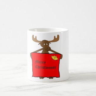 Feliz taza de Christmoose