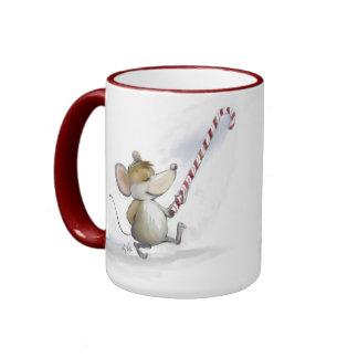 Feliz taza de Moe del ratón