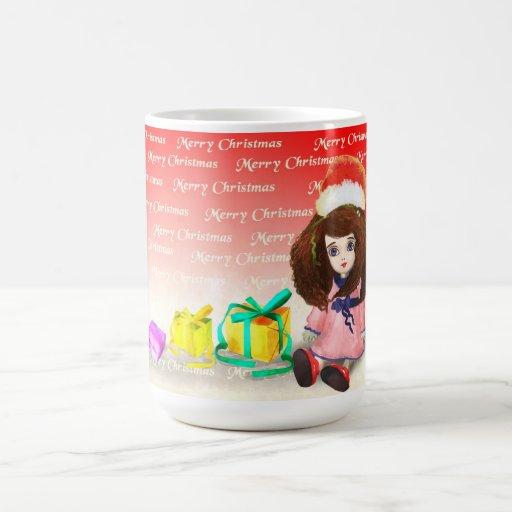 feliz taza de Navidad
