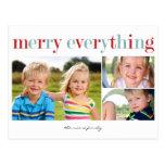 Feliz todo postal de la tarjeta de la foto del día