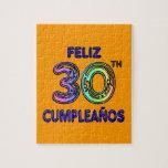 Feliz trigésimo Cumpleaños Puzzles Con Fotos