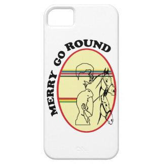 Feliz va el caso de Iphone 5 de la ronda iPhone 5 Case-Mate Carcasas