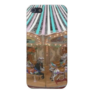Feliz va el caso de IPhone del carrusel de la rond iPhone 5 Carcasa