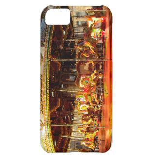 Feliz va la ronda en caso del iphone 5 de Londres Funda Para iPhone 5C