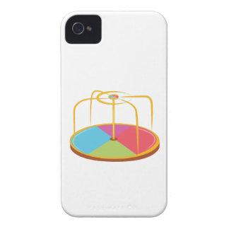 Feliz va la ronda iPhone 4 Case-Mate cárcasa