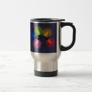 """""""Feliz y brillante"""" (fondo oscuro) Taza De Café"""