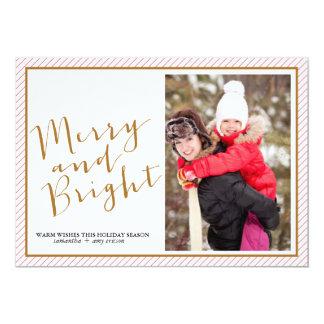 Feliz y brillante - tarjeta de felicitación de la comunicados