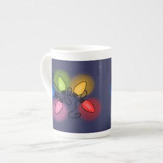 """""""Feliz y brillante"""" Taza De Porcelana"""