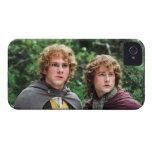 Feliz y Peregrin Carcasa Para iPhone 4 De Case-Mate