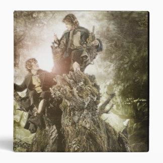 Feliz y Peregrin en Treebeard