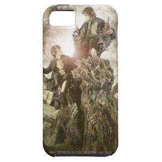 Feliz y Peregrin en Treebeard iPhone 5 Case-Mate Coberturas