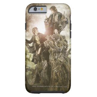 Feliz y Peregrin en Treebeard Funda De iPhone 6 Tough