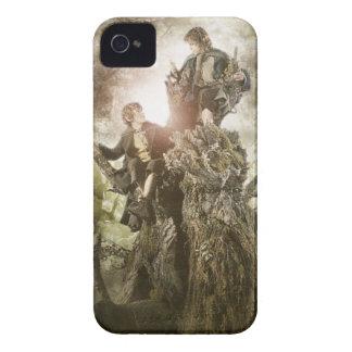 Feliz y Peregrin en Treebeard Case-Mate iPhone 4 Carcasa
