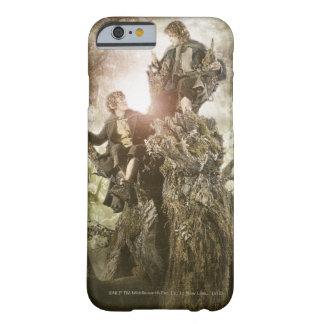 Feliz y Peregrin en Treebeard Funda De iPhone 6 Barely There