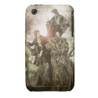 Feliz y Peregrin en Treebeard iPhone 3 Case-Mate Fundas
