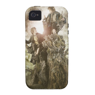 Feliz y Peregrin en Treebeard Case-Mate iPhone 4 Carcasas