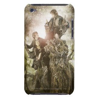 Feliz y Peregrin en Treebeard iPod Touch Funda