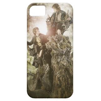 Feliz y Peregrin en Treebeard iPhone 5 Cobertura