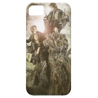Feliz y Peregrin en Treebeard iPhone 5 Carcasas