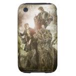 Feliz y Peregrin en Treebeard Funda Resistente Para iPhone 3
