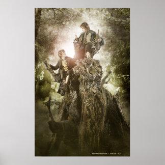 Feliz y Peregrin en Treebeard Impresiones