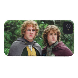 Feliz y Peregrin Case-Mate iPhone 4 Carcasa