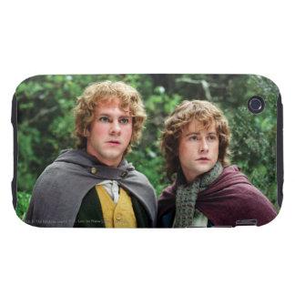 Feliz y Peregrin Tough iPhone 3 Cárcasa