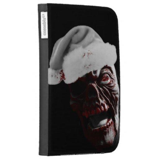 Feliz zombi sangriento Santa de Halloween