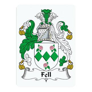 Fell Family Crest Card
