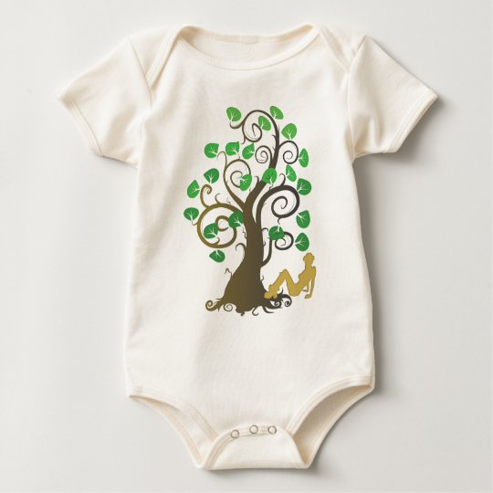 Fell from the Family Tree Baby Bodysuit