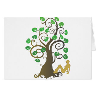 Fell from the Family Tree Greeting Cards