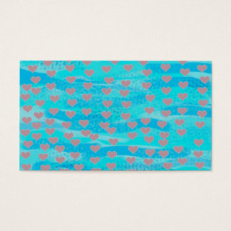 Fell in love fish business card