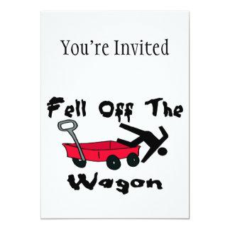 Fell Off The Wagon Card
