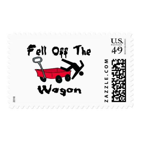 Fell Off The Wagon Postage