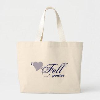 Fell ponies tote bags