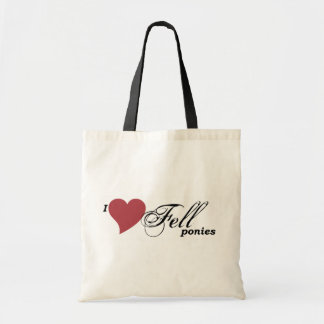 Fell ponies tote bag
