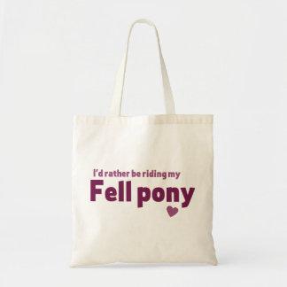Fell pony bags