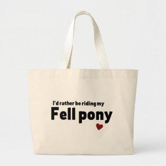 Fell pony tote bags