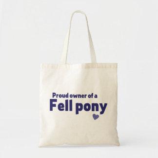 Fell pony canvas bag