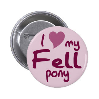 Fell pony pinback buttons